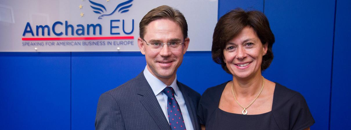 AmCham EU; Jyrki Katainen; Susan Danger