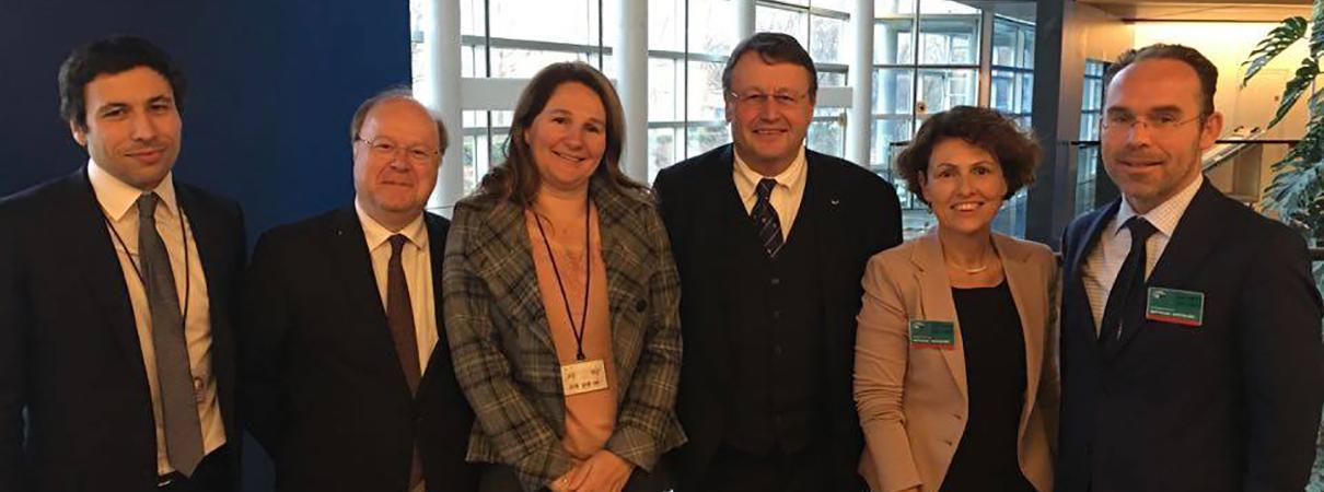 AmCham EU delegation Strasbourg