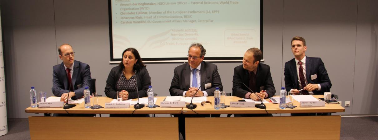 October Plenary meeting on Trade