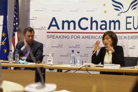 Ambassador Kathrine Tai at AmCham EU